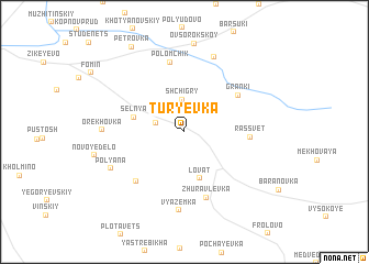 map of Tur\