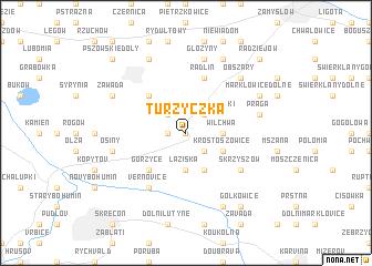 map of Turzyczka