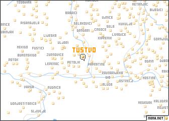 map of Tustvo