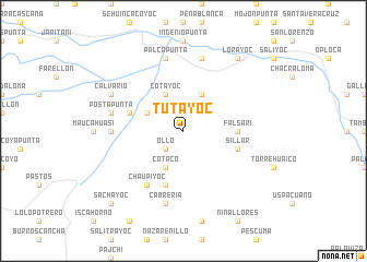 map of Tutayoc