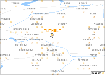 map of Tuthult
