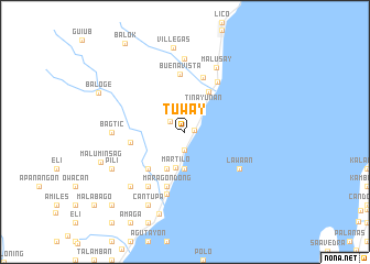 map of Tuway