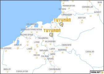 map of Tuyuman