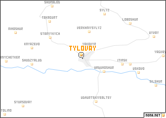 map of Tylovay