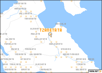 map of Tzanetáta