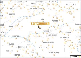 map of Tzitziraíïka