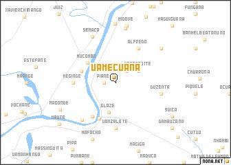 map of Uamecuana