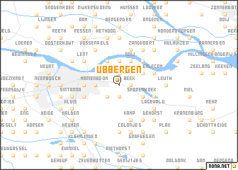 map of Ubbergen