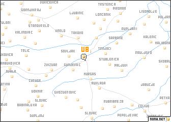 Ub (Serbia and Montenegro) map - nona.net on ralph wilson stadium parking map, wn map, north court university of richmond map, la map, bflo univ campus map, mdc north map, buff state map, mc map, uk map, south campus map,