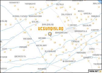 map of Üçgünqışlaq
