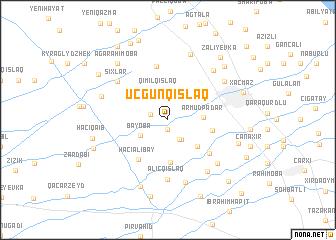 map of Üçgünqışlaq