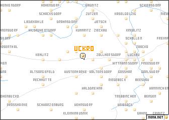 map of Uckro
