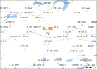 map of Udino