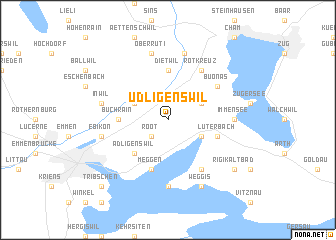 map of Udligenswil