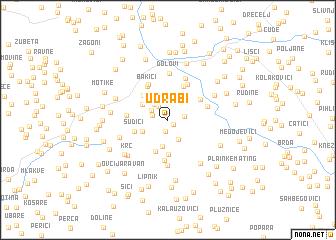 map of Udrabi