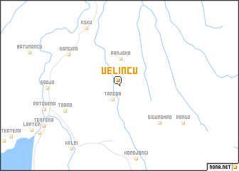 map of Uelincu