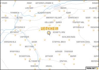 map of Uerkheim