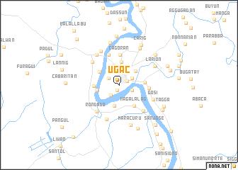 map of Ugac