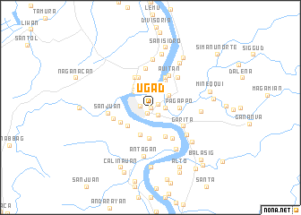 map of Ugad