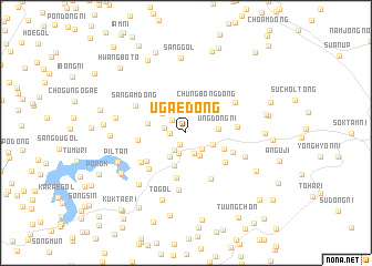 map of Ugae-dong