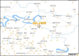 map of Ugljara