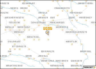 map of Ugod