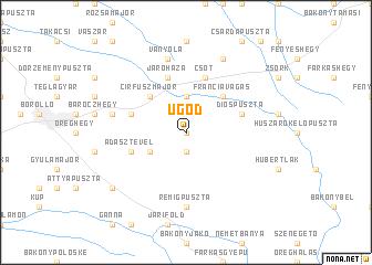 map of Ugod