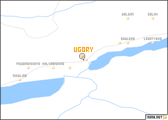 map of Ugory