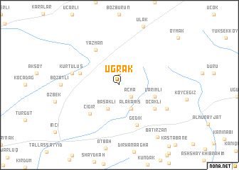 map of Uğrak