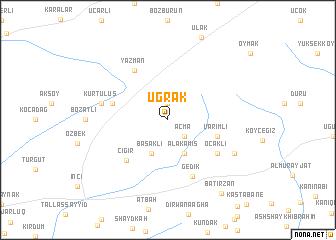 map of Uğrak
