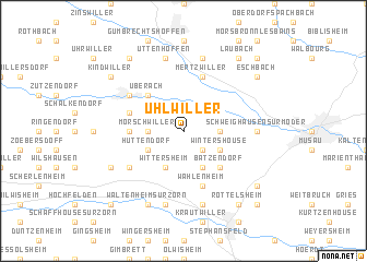 map of Uhlwiller
