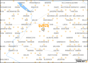 map of Ujazd