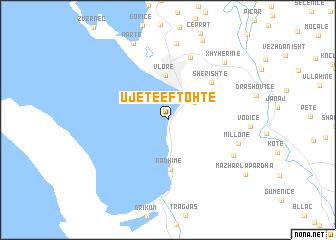 map of Ujete e Ftohte