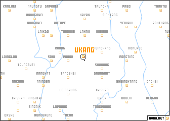 map of U Kang