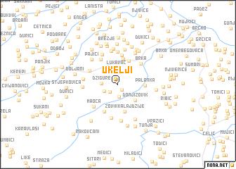 map of Ukelji