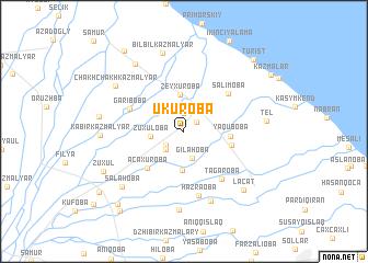 map of Ukuroba