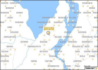 map of Ukusi