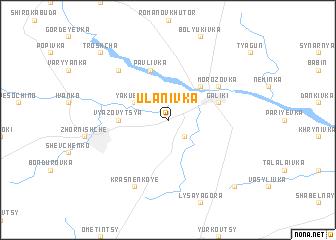 map of Ulanivka