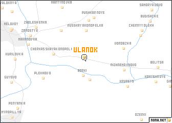 map of Ulanok