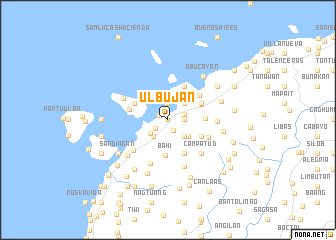 map of Ulbujan