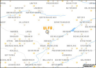 map of Ulfa