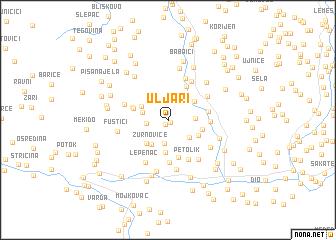 map of Uljari