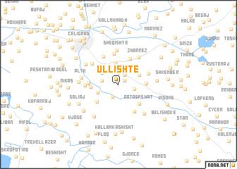 map of Ullishte