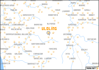 map of Ul-oling