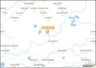 map of Umāgar