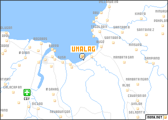 map of Umalag