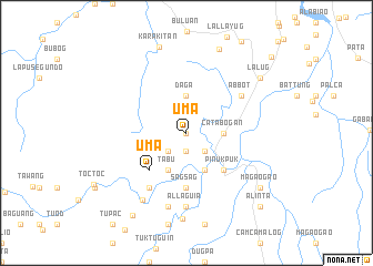 map of Uma