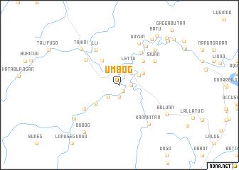 map of Umbog