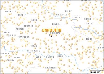 map of Umkovina