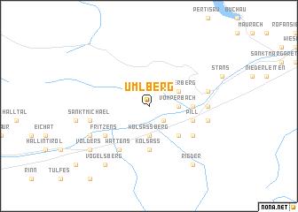 map of Umlberg